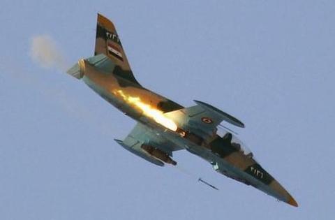 IS ban roi may bay Syria, bat song phi cong hinh anh