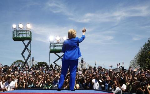 Ba Clinton: Tu de nhat phu nhan toi giac mo nu tong thong My hinh anh 21
