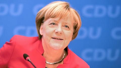 Lien dang cam quyen ung ho ba Merkel tiep tuc lam thu tuong hinh anh
