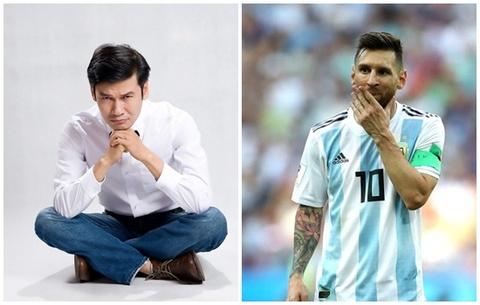 Nghe si Tiet Cuong: Maradona van nhinh hon Messi hinh anh