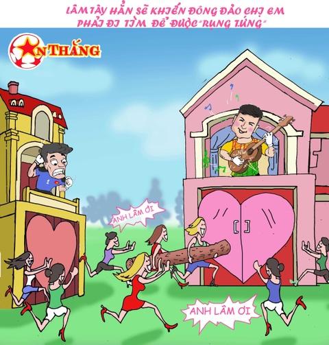 Hi hoa Bui Tien Dung khoc truoc tai nang bay nhay cua Van Lam o U23 VN hinh anh 12