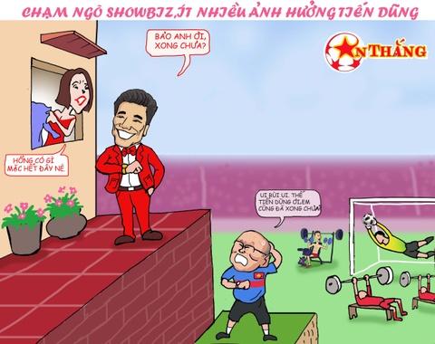 Hi hoa Bui Tien Dung khoc truoc tai nang bay nhay cua Van Lam o U23 VN hinh anh 7