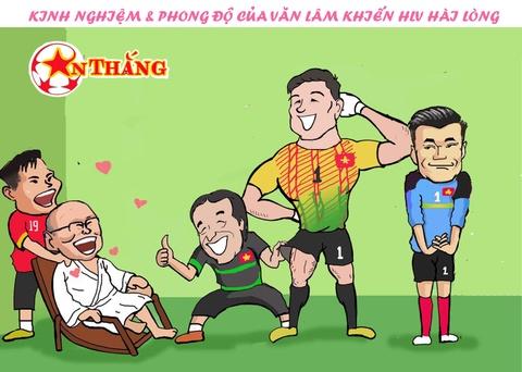 Hi hoa Bui Tien Dung khoc truoc tai nang bay nhay cua Van Lam o U23 VN hinh anh 10