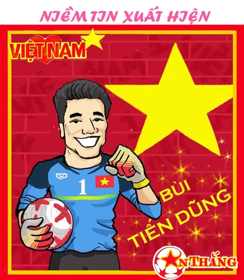 Hi hoa Bui Tien Dung khoc truoc tai nang bay nhay cua Van Lam o U23 VN hinh anh 2