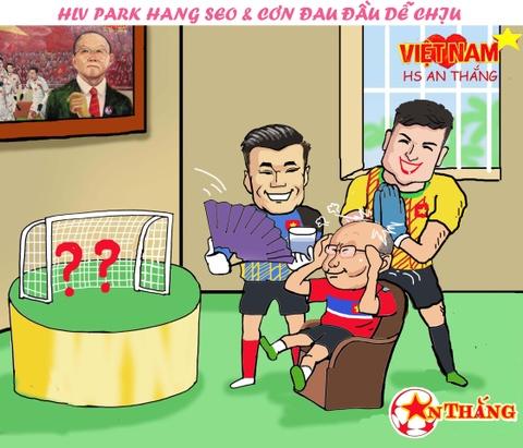 Hi hoa Bui Tien Dung khoc truoc tai nang bay nhay cua Van Lam o U23 VN hinh anh 5
