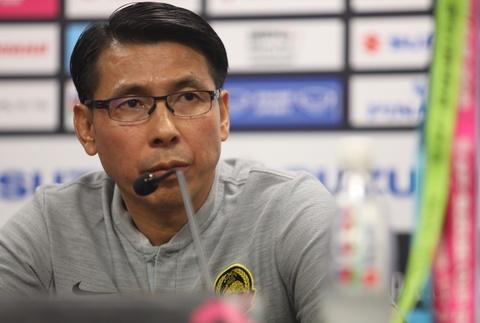 HLV Malaysia lạc quan về trận chung kết lượt về tại Mỹ Đình
