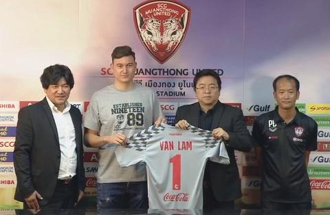 Dang Van Lam mang ao thu mon so 1 o Muangthong United hinh anh