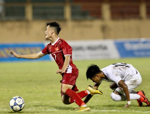 Cau thu Myanmar tung cuoc ha guc tien dao U19 Viet Nam hinh anh 6