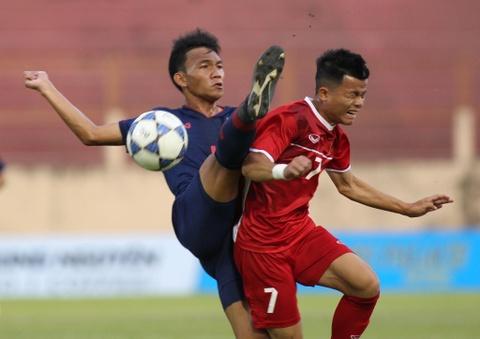 U19 Thai Lan va Viet Nam bat phan thang bai trong tran dau nhieu loi hinh anh 2