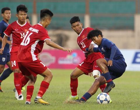 U19 Thai Lan va Viet Nam bat phan thang bai trong tran dau nhieu loi hinh anh 3