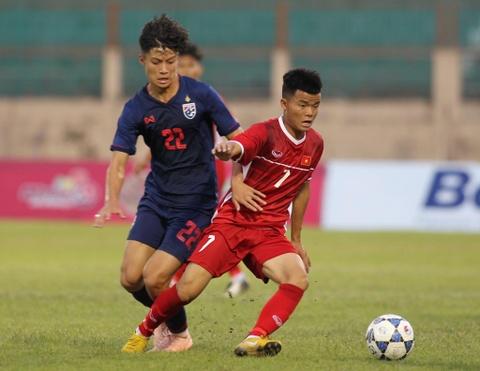 U19 Thai Lan va Viet Nam bat phan thang bai trong tran dau nhieu loi hinh anh 1