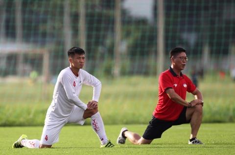 Bo doi hoc tro ong Park thu tha truoc tran gap Sai Gon FC hinh anh 3