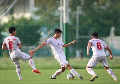 Bo doi hoc tro ong Park thu tha truoc tran gap Sai Gon FC hinh anh 1