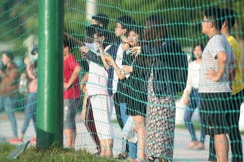 Bo doi hoc tro ong Park thu tha truoc tran gap Sai Gon FC hinh anh 8