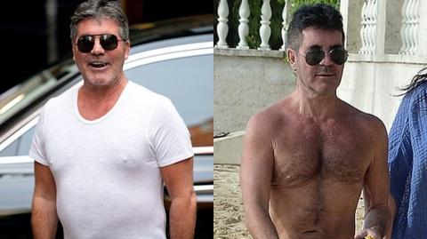 Simon Cowell chia se bi quyet giam can o tuoi 60 hinh anh