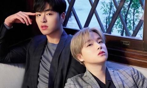 Jun Hoe va Jin Hwan (iKON) bi tai nan giao thong hinh anh