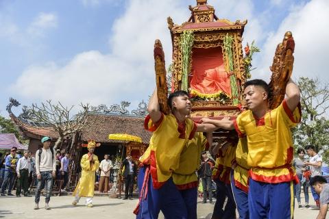 Ruoc kieu loi ao lanh suot 5 gio o Thai Binh hinh anh 21