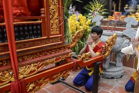Ruoc kieu loi ao lanh suot 5 gio o Thai Binh hinh anh 23