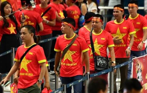 CDV Viet Nam len duong co vu doi tuyen Olympic hinh anh