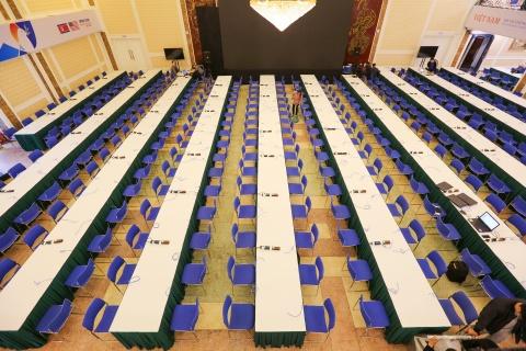 Khai trương trung tâm báo chí quốc tế phục vụ hội nghị Trump - Kim