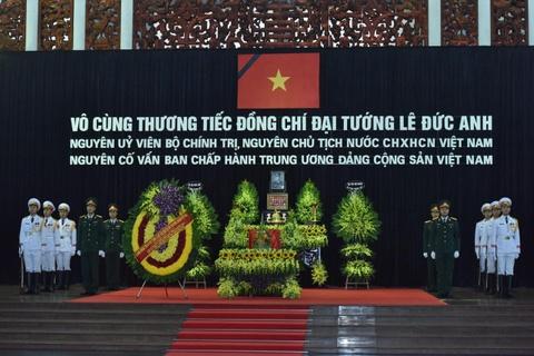 Lanh dao Dang va Nha nuoc vieng nguyen Chu tich nuoc Le Duc Anh hinh anh 2
