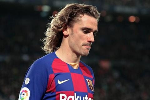 Griezmann đang trở thành người thừa tại Barca