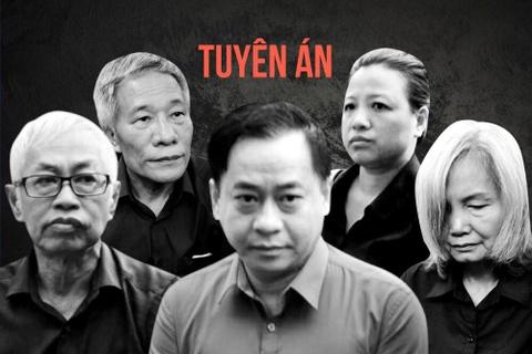 Ban an cua Vu 'nhom', Tran Phuong Binh va 24 dong pham o DAB hinh anh