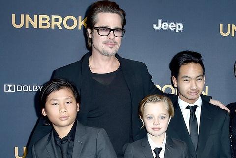 Brad Pitt duoc minh oan ve cao buoc bao hanh con hinh anh