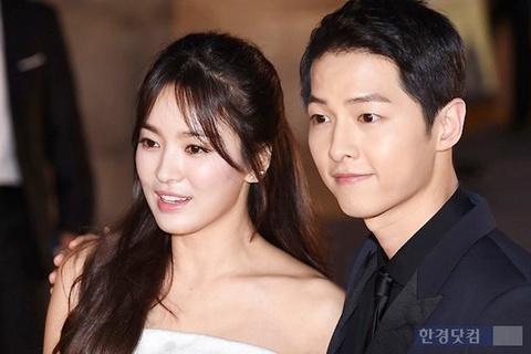 Ro tin Song Joong Ki va Song Hye Kyo se cuoi trong nam nay hinh anh