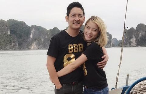 Hai Bang va Thanh Dat tron con gai moi sinh de du lich Ha Long? hinh anh