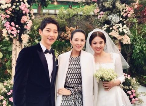 Dan sao hang A du le cuoi Song Hye Kyo - Song Joong Ki hinh anh
