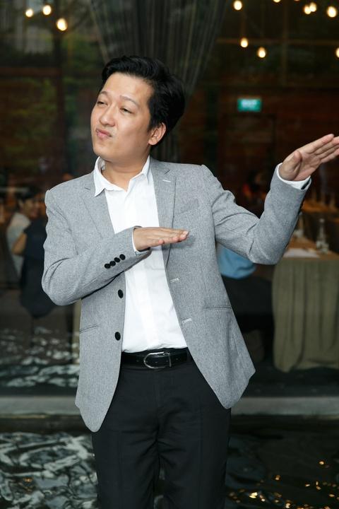Truong Giang: 'Doi toi chi cuoi mot lan' hinh anh 3