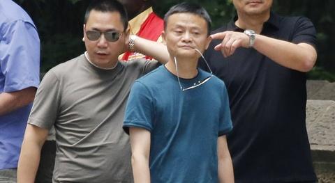 Quan he than thiet giua vo chong Trieu Vy va ty phu Jack Ma hinh anh