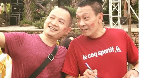 My Tam va dan BTV to chuc tiec chia tay MC Lai Van Sam hinh anh
