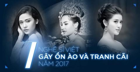 Chi Pu, Tran Thanh va cac nghe si Viet gay on ao, tranh cai nhat 2017 hinh anh