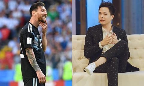 Trinh Thang Binh bi nem da vi che nhao Messi sau tran Thuy Dien hinh anh