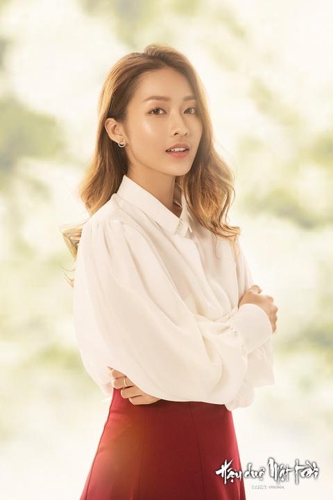 Kha Ngan: Tu hot girl tai tieng den nu chinh 'Hau due mat troi' hinh anh 2