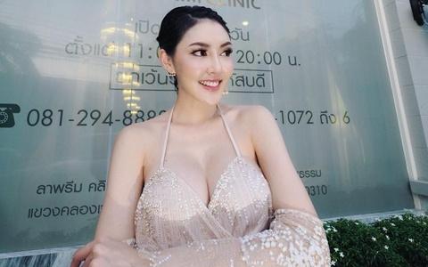 Nguoi dep Thai Lan uong thuoc diet co, nhay lau tu sat hinh anh