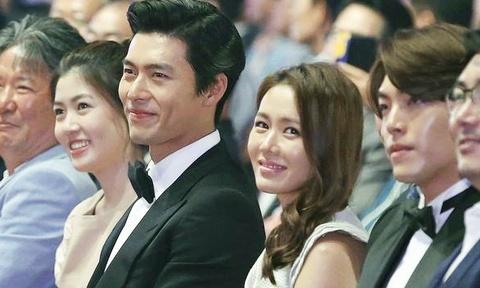Hyun Bin va Son Ye Jin len tieng ve tin hen ho bi mat o My hinh anh