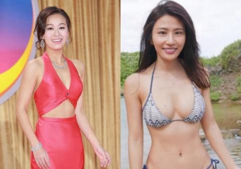 Lam Thien Du - sao nu TVB trang tay vi clip may mua o toilet cong cong hinh anh 1