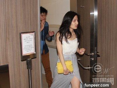 Lam Thien Du - sao nu TVB trang tay vi clip may mua o toilet cong cong hinh anh 3