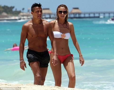 Alexis Sanchez du hi voi bo truoc khi gia nhap Arsenal hinh anh