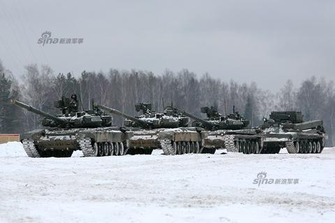 Xe tang T-90A oai hung cua Nga hinh anh
