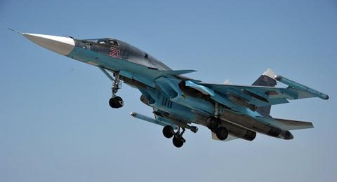 'Xe tang bay' cua Nga tham gia phong khong tai Syria hinh anh