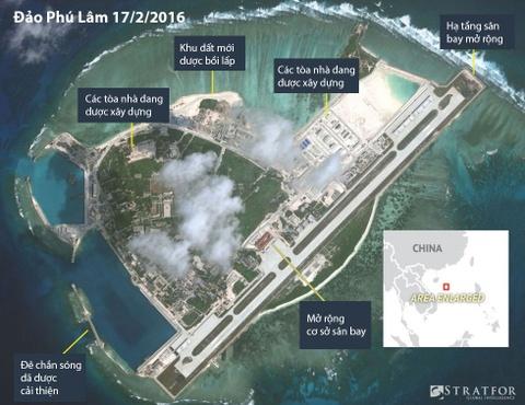 Can canh HQ-9 va co so quan su phi phap cua TQ o dao Phu Lam hinh anh 1