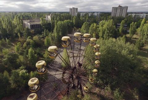 Thanh pho hoang tan 3 thap ky sau tham hoa Chernobyl hinh anh 1