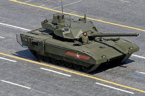 Sieu tang T-14 cua Nga ban chinh xac nhu sung ban tia hinh anh