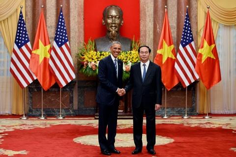 Mot ngay ban ron cua Tong thong Obama o Ha Noi hinh anh 4
