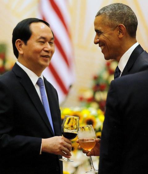 Mot ngay ban ron cua Tong thong Obama o Ha Noi hinh anh 11