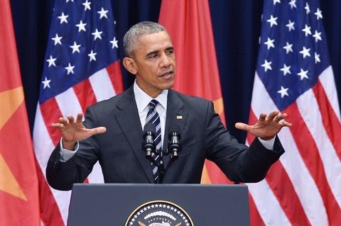 obama doi thoai voi doanh nghiep tre hinh anh